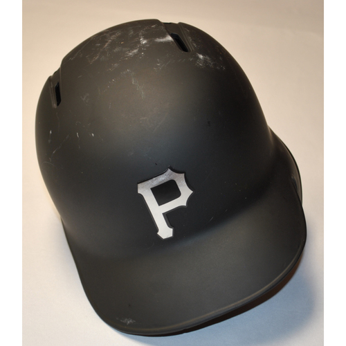 "Photo of Bryan ""B-REY"" Reynolds Pittsburgh Pirates Game-Used 2019 Players' Weekend Helmet (Right-Handed)"