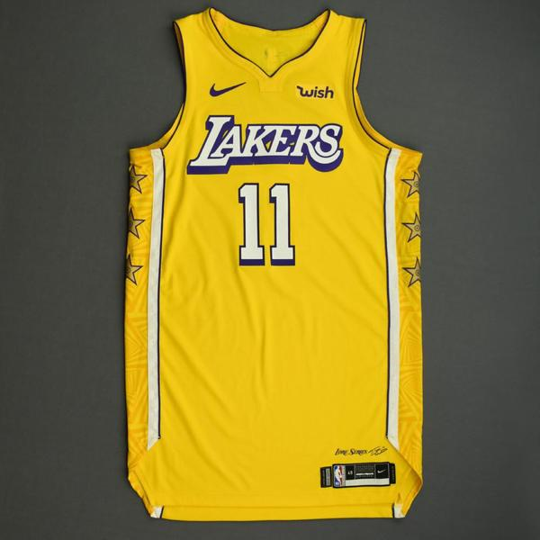 Image of Avery Bradley - Los Angeles Lakers - Christmas Day' 19 - Game-Worn City Edition Jersey