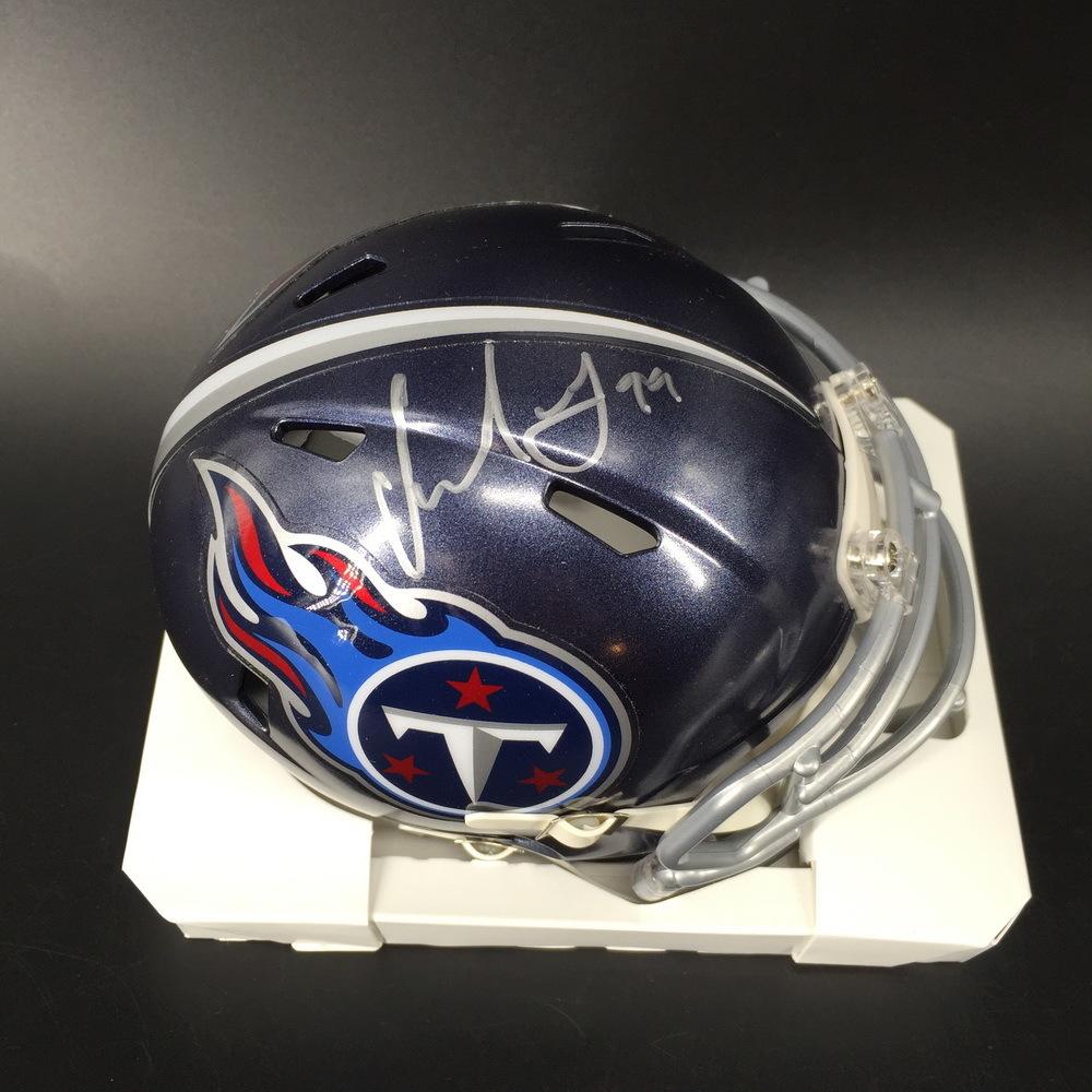 NFL - Titans Jurrell Casey Signed Mini Helmet