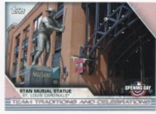 Photo of 2020 Topps Opening Day Team Traditions and Celebrations #TTC5 Stan Musial Statue
