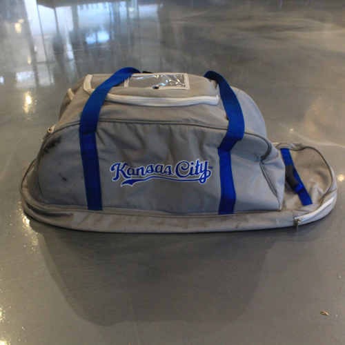 Photo of Game-Used Spring Training 2020 Bag: Jorge Soler #12
