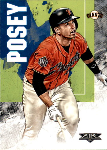 Photo of 2019 Topps Fire #191 Buster Posey