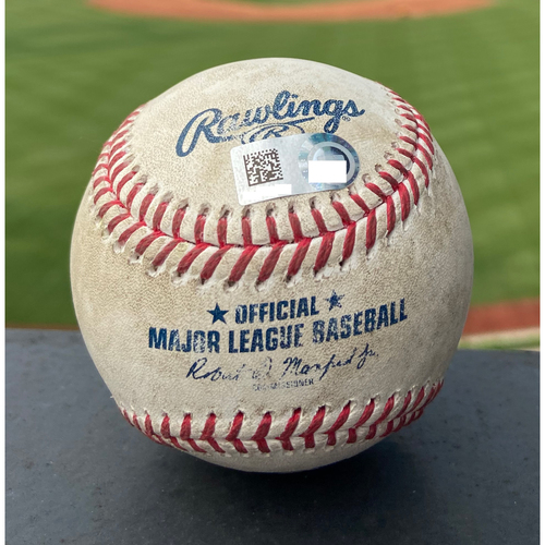 Photo of Cardinals Authentics: Game Used Baseball Pitched by Beau Burrows to Paul Goldschmidt *Home Run*