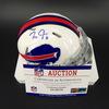 Bills - Zay Jones Signed Mini Helmet