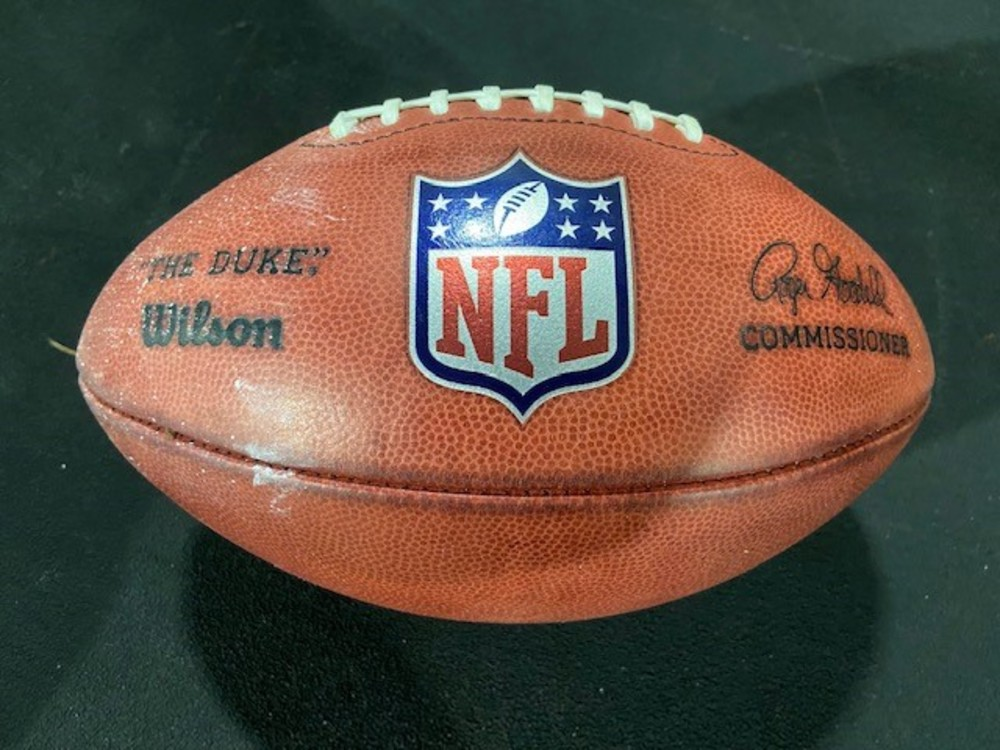 Game Used K Ball - Used for Opening Kickoff 2021 Season - Cowboys @ Buccaneers 9.9.21