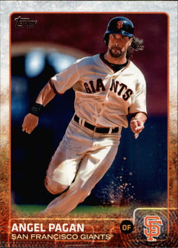 Photo of 2015 Topps #688 Angel Pagan
