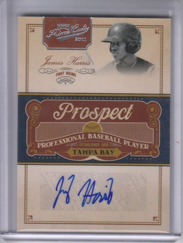 Photo of 2011 Prime Cuts Prospect Signatures #JHA James Harris