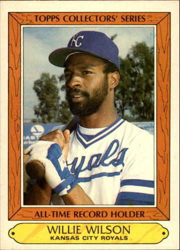Photo of 1985 Woolworth's Topps #42 Willie Wilson
