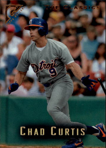 Photo of 1996 Topps Gallery #85 Chad Curtis