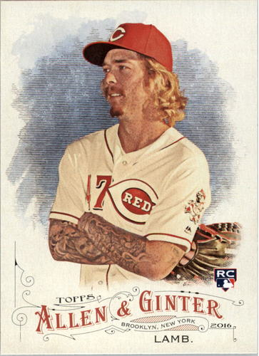 Photo of 2016 Topps Allen and Ginter #7 John Lamb RC