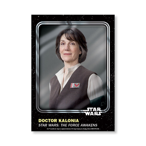 Doctor Kalonia 2016 Star Wars Card Trader Base Poster - # to 99