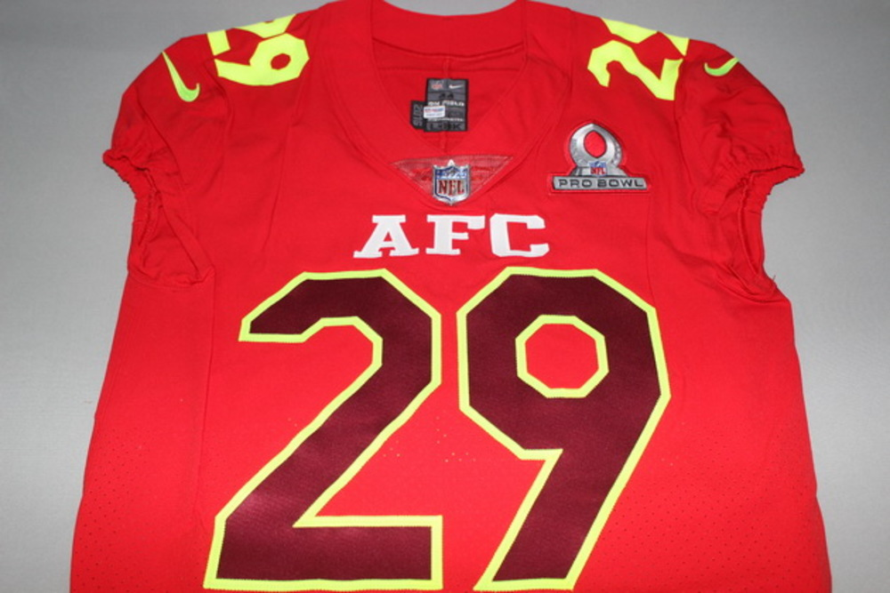 NFL Auction | NFL - CHIEFS ERIC BERRY GAME ISSUED 2017 AFC PRO ...