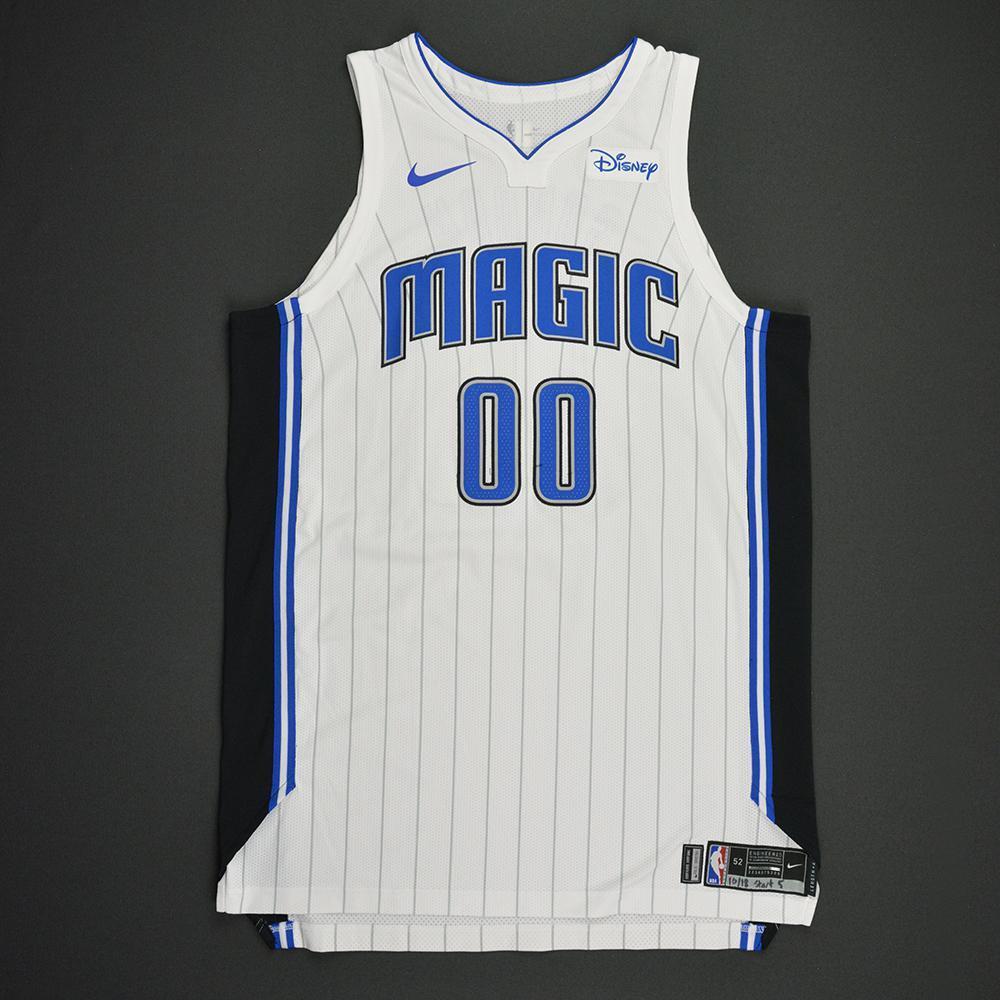 factory authentic d87dc fbe81 Aaron Gordon - Orlando Magic - Kia NBA Tip-Off 2017 - Game ...