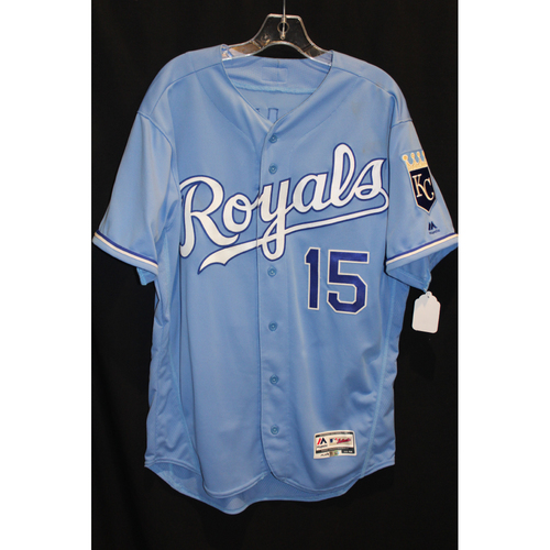 Game-Used Jersey: Whit Merrifield (Size 44 - CLE at KC - 8/20/17)