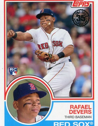 Photo of 2018 Topps '83 Rookies #8319 Rafael Devers