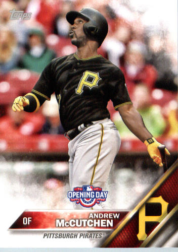 Photo of 2016 Topps Opening Day #OD51A Andrew McCutchen