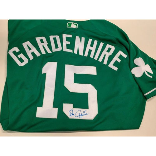 Photo of Autographed Game-Used St. Patrick's Day Jersey: Ron Gardenhire
