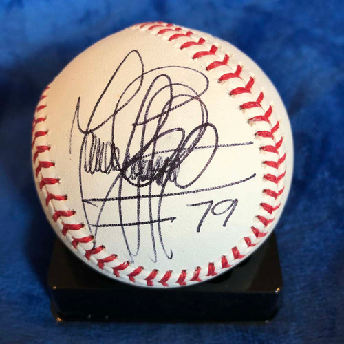 Photo of UMPS CARE AUCTION: Manny Gonzalez and Carlos Torres Signed Baseball