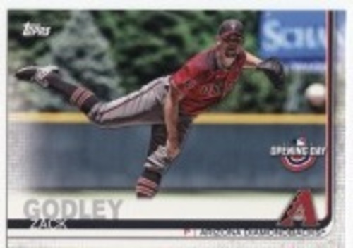Photo of 2019 Topps Opening Day #26 Zack Godley