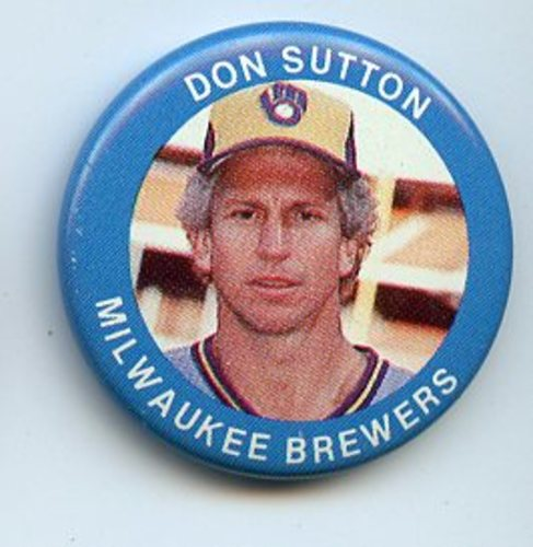 Photo of 1984 Fun Foods Pins #86 Don Sutton