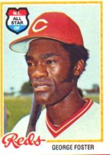 Photo of 1978 Topps #500 George Foster