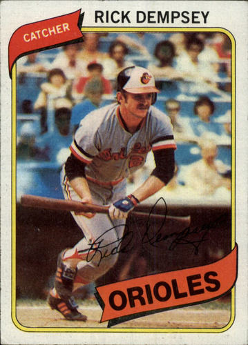 Photo of 1980 Topps #91 Rick Dempsey