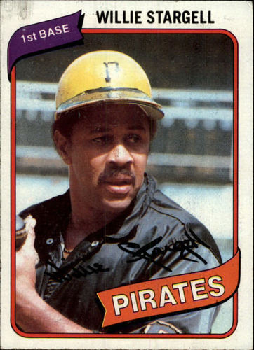 Photo of 1980 Topps #610 Willie Stargell