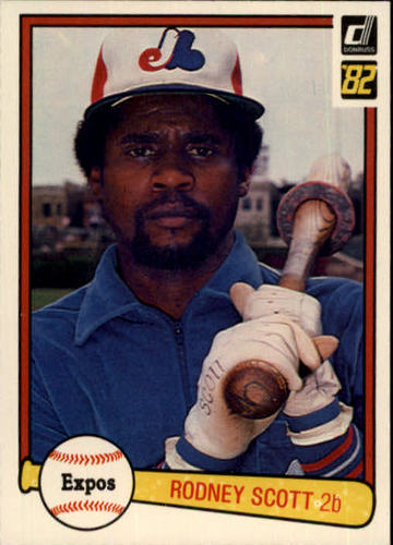 Photo of 1982 Donruss #240 Rodney Scott