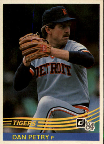 Photo of 1984 Donruss #105 Dan Petry