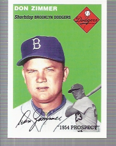 Photo of 1994 Topps Archives '54 #258 Don Zimmer