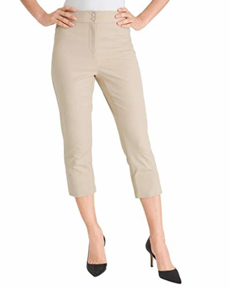 Photo of Chico's Women's Secret Stretch Straight-Leg Crops