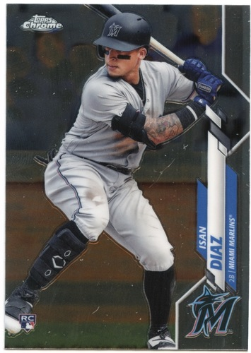 Photo of 2020 Topps Chrome #170 Isan Diaz RC