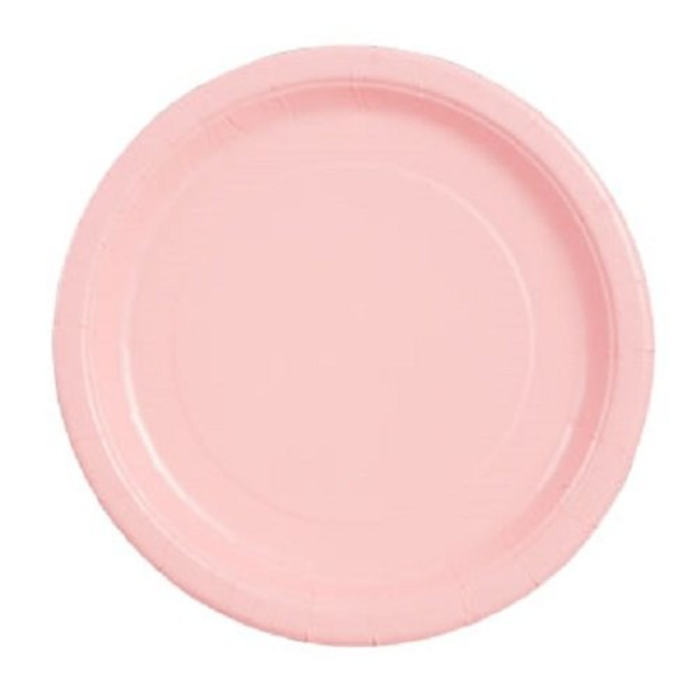 "Photo of Pink, 9"" Round-20 Count"