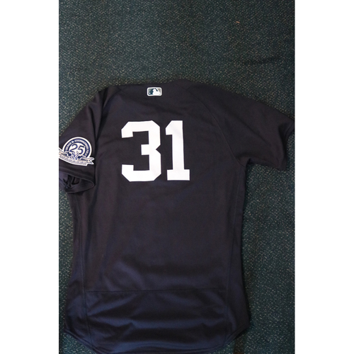 Photo of 2020 Game-Used Spring Training Jersey - Aaron Hicks #31 - Size 44