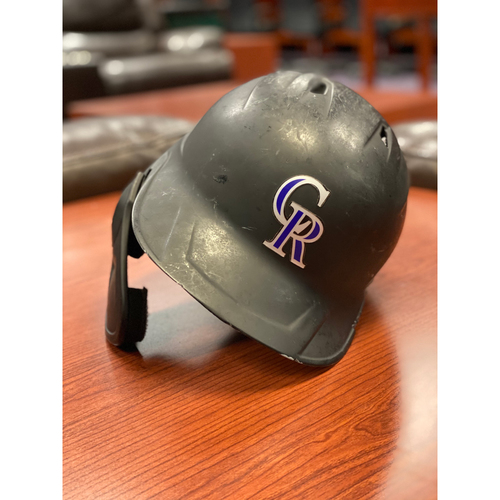 Photo of Colorado Rockies Team-Issued 2020 Helmet: Sam Hilliard