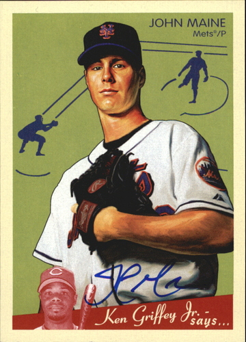 Photo of 2008 Upper Deck Goudey Autographs #JO John Maine