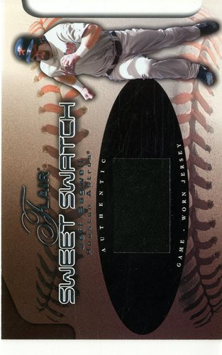 Photo of 2002 Flair Sweet Swatch #1 Jeff Bagwell/490