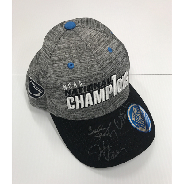 Photo of Signed NCAA Wrestling Championship Hat