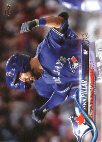 Photo of 2018 Topps #4 Kevin Pillar