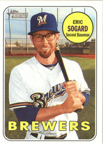 Photo of 2018 Topps Heritage #380 Eric Sogard