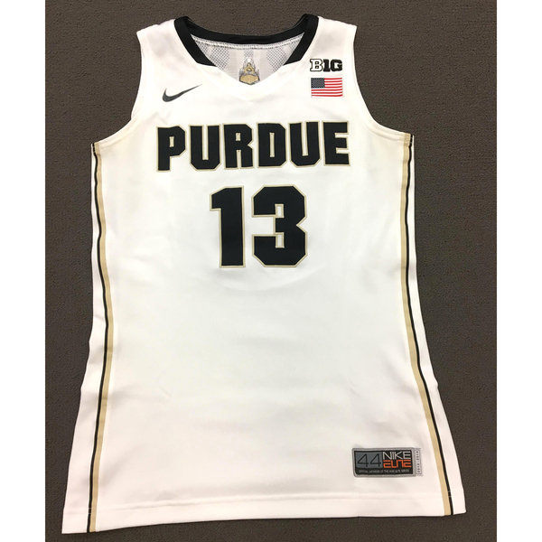 Photo of Perry #13 Purdue Women's Basketball 2013-14 White Jersey