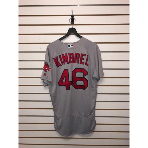 separation shoes 8e882 deffa MLB Auctions | Craig Kimbrel Game-Used April 18, 2018 Road ...