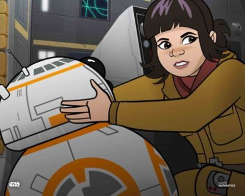 Rose and BB-8