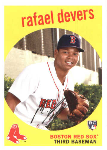 Photo of 2018 Topps Archives #40 Rafael Devers RC