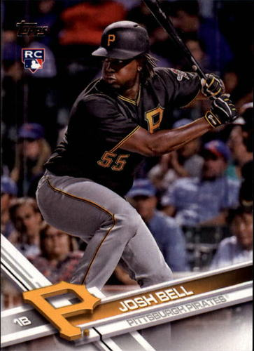 Photo of 2017 Topps #30A Josh Bell Rookie Card
