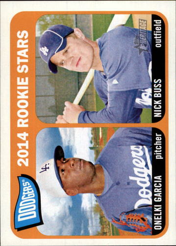Photo of 2014 Topps Heritage #331 Onelki Garcia RC/Nick Buss RC