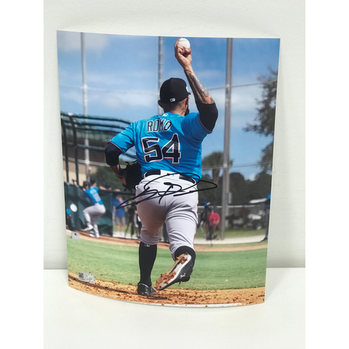 Photo of Miami Marlins Foundation Auction: Sergio Romo Autographed Photograph