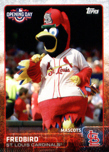 Photo of 2015 Topps Opening Day Mascots #M22 Fredbird