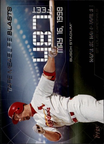 Photo of 2015 Topps Update Tape Measure Blasts #TMB3 Mark McGwire