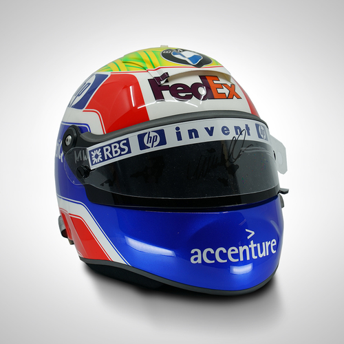 Photo of Mark Webber 2005 Signed Replica Helmet